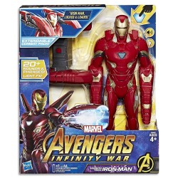 Marvel Avengers-Infinity War Mission Tech Iron Man Figure