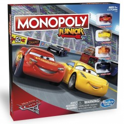 Monopoly Junior-Disney Pixar Cars 3 Edition