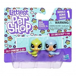 Littlest Pet Shop Mini 2-pack Set of 2 Animals-Love Birds