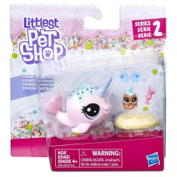 Littlest Pet Shop Ambrosia Narwhalz and Cannoli Crabbley