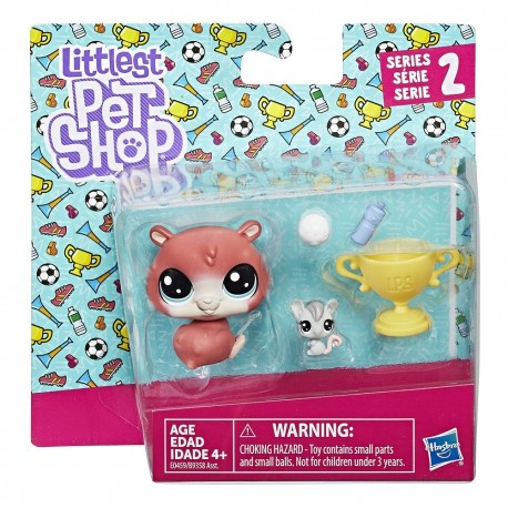 Littlest Pet Shop Trip Hamston and Molly Mouseby