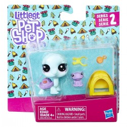 Littlest Pet Shop Bev Gilturtle and Keely Frogget