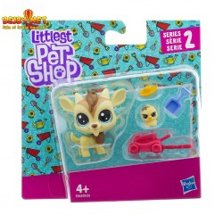 Littlest Pet Shop Quincy Goatee and Chickles Scrapper