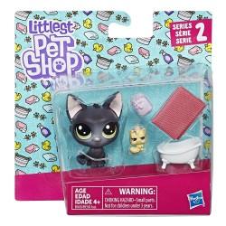 Littlest Pet Shop Jade Catkin and Kittylina Scrapper