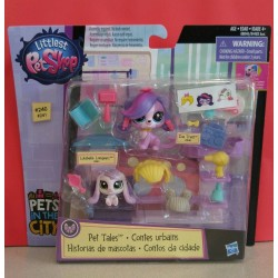 Littlest Pet Shop Pet Hair Salon Stories