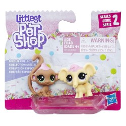 Littlest Pet Shop Frosting Frenzy BFFs-Monkey and Elephant
