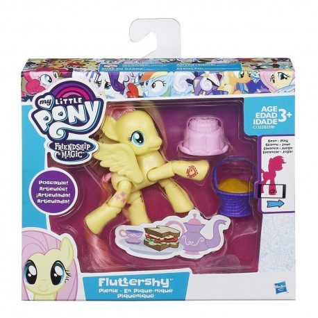 My Little Pony Friendship is Magic Fluttershy Picnic Poseable Pony