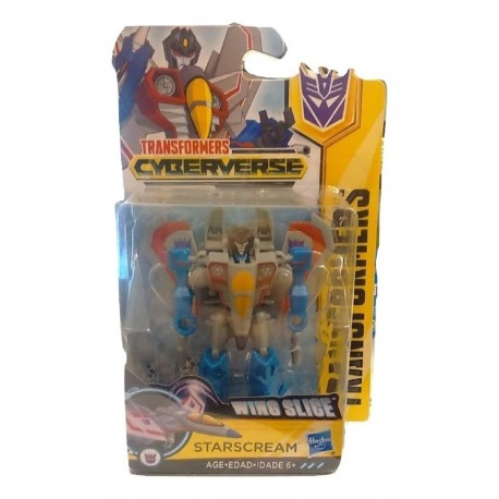 Transformers Cyberverse Wing Slice Starscream