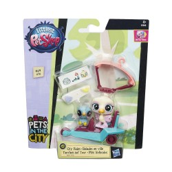 Littlest Pet Shop City Rides - Rowdy Apto and Opaline Featherwisp