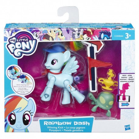 My Little Pony Set with Articulation Rainbow Dash