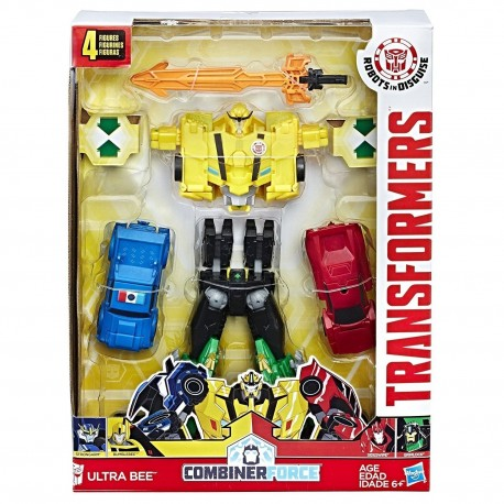 Transformers:Robots in Disguise Combiner Force Team Combiner Ultra Bee