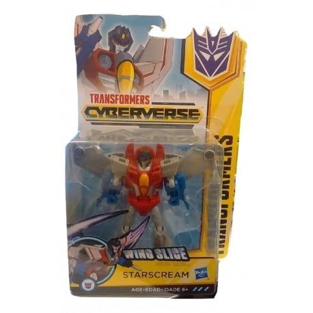 Transformers Cyberverse Warrior Class Starscream