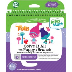 LeapFrog LeapStart Trolls Solve It All with Poppy & Branch Activity Book (4 - 7 yrs)