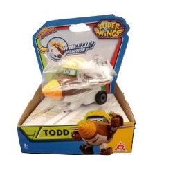 Super Wings Vroom n' Zoom - Todd