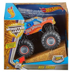 Hot Wheels Monster Jam Rev Tredz Firestorm Vehicle