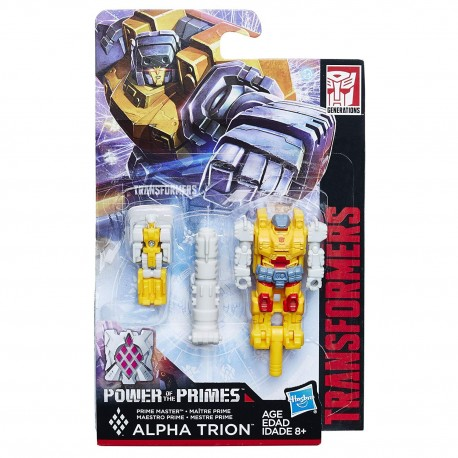 Transformers Generations Power of the Primes Alpha Trion Prime Minister