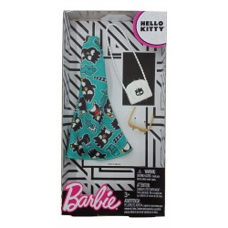 Barbie Hello Kitty Green Dress Fashion