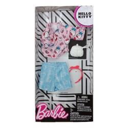 Barbie Hello Kitty Pink Top/Blue Skirt Fashion
