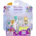 Shimmer and Shine Teenie Genies Rainbow Genie and Zahracorn