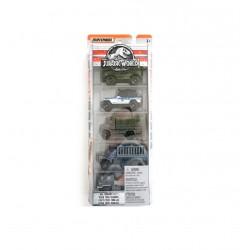 Jurassic World Matchbox All-Terrain Fleet 5-Pack