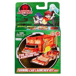 Turning Mecard Mecanimals Standard Launcher Red Vehicle