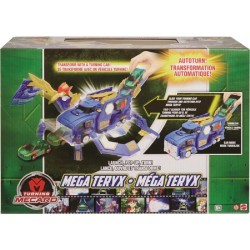 Turning Mecard Mecanimals Mega Teryx Vehicle