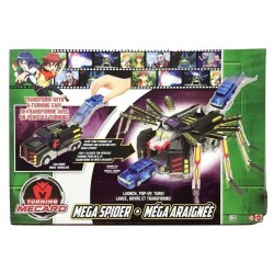 Turning Mecard Mecanimals Mega Spider Vehicle