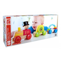 Hape Triple Play Train