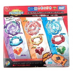 Beyblade Busrt B-64 Super Custom Set Heavy Ver. For Sea