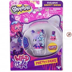 Shopkins Shoppies Wild Style Pretti Paws Doll