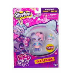 Shopkins Shoppies Wild Style Oh La Panda Doll