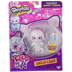 Shopkins Shoppies Wild Style Mello Lamb Doll