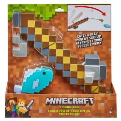 Minecraft Role Play Fishing Pole Playset