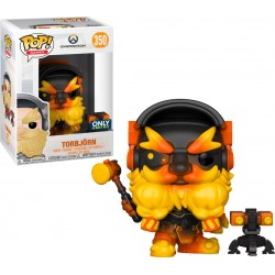 Funko Pop! Games 350: Overwatch - Torbjorn (Molten Core) (Exclusive)