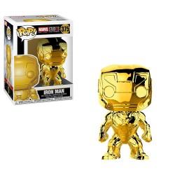 Funko Pop! Marvel 375: Marvel Studio The First 10 Years - Iron Man (Gold Chrome)