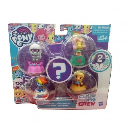 My Little Pony Cutie Mark Crew 5-Pack Assortment - Party Style