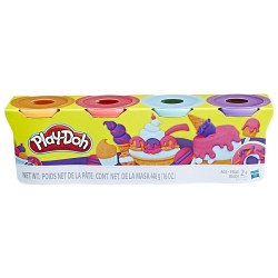 Play-Doh 4-Pack - Pack Of Sweet Colors