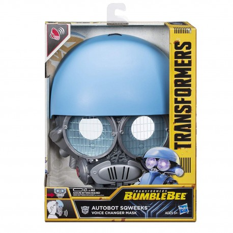 Transformers: Bumblebee Autobot Sqweeks Voice Changer Mask