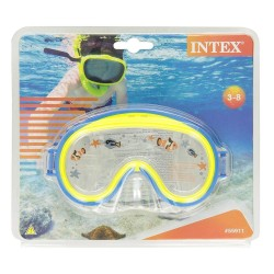 Intex Mini Aviator Swim Masks - Blue and Yellow