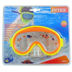 Intex Mini Aviator Swim Masks - Yellow and Orange