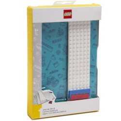 LEGO Journal with Building Band - Blue