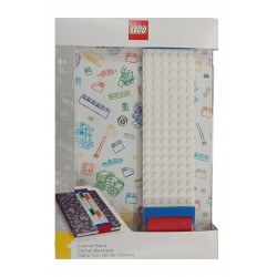 LEGO Journal with Building Band - White