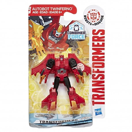 Transformers Robots in Disguise Legion Class Autobot Twinferno Figure