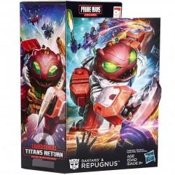 Transformers Titans Return Prime Wars Trilogy Dastard & Repugnus