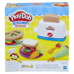 Play Doh Kitchen Creations Toaster Creations
