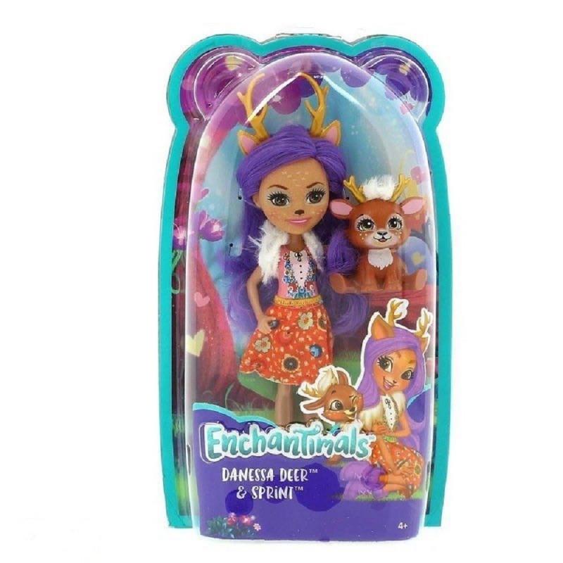 ddf9fbbe21b Enchantimals Danessa Deer Doll