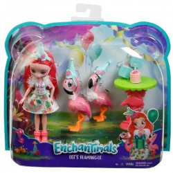 Enchantimals Let's Flamingle Dolls