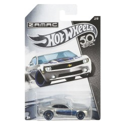 Hot Wheels 50th Anniversary ZAMAC - Chevy Camaro Concept