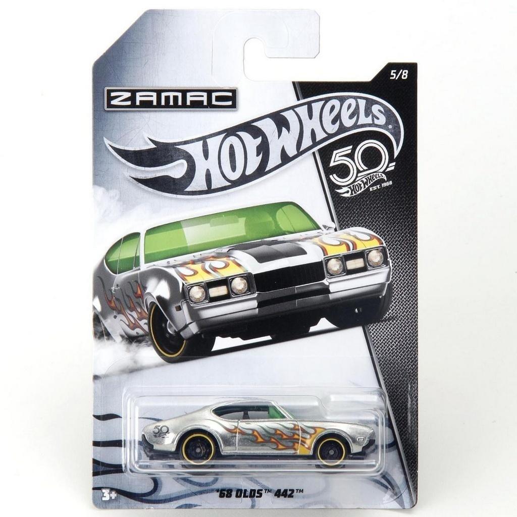 Hot Wheels 50th Anniversary ZAMAC - '68 Olds 442