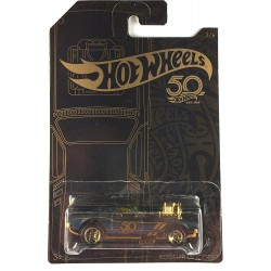 Hot Wheels 50th Anniversary Black & Gold - Rodger Dodger
